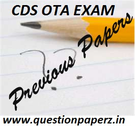CDS OTA Previous Papers
