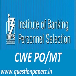 IBPS CWE PO MT Previous Papers