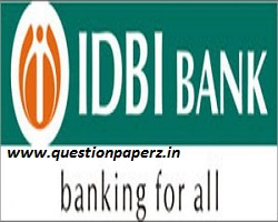 IDBI Assistant Manager Previous Year Question Paper