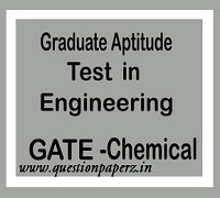 GATE Chemical Engg Previous Year Papers