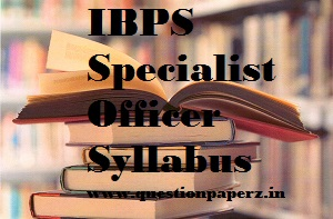 ibps 2019 so syllabus