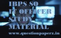 ibps so it officer study material