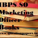 ibps so marketing officer preparation books
