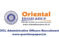 oicl ao notification