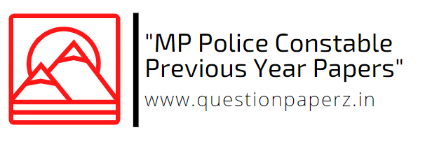 MP Police Constable Previous Year Papers
